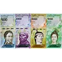 Novelty Collections-7 Currency Notes from Venezuela -(Bolivar Issue 2007-2017)