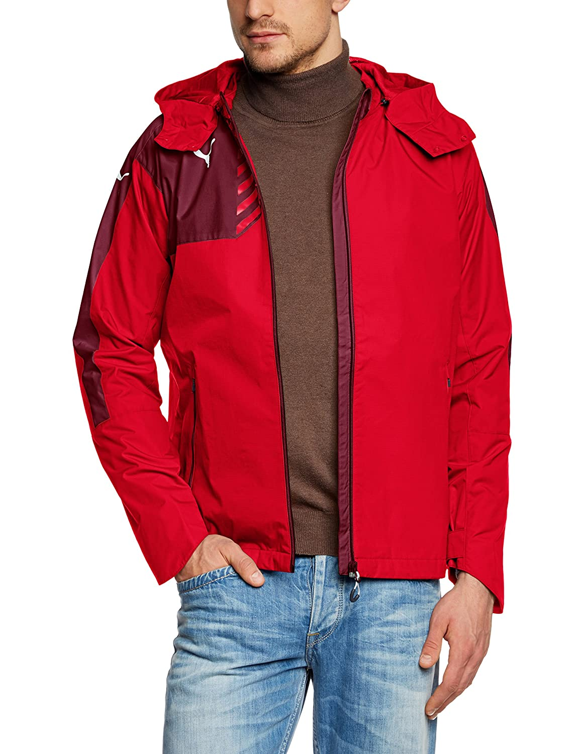 Redpuma red L Puma Men's Jacke Mestre Rain Jacket
