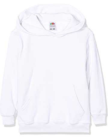 ba5bf9f69cd3 Fruit of the Loom Boy s Pull-Over Classic Hooded Sweat