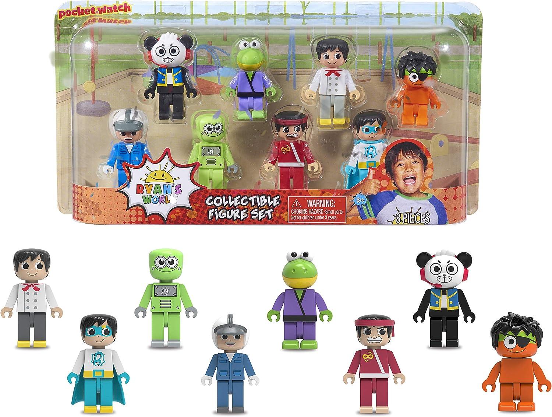 Ryans World 8-Piece Figure Set