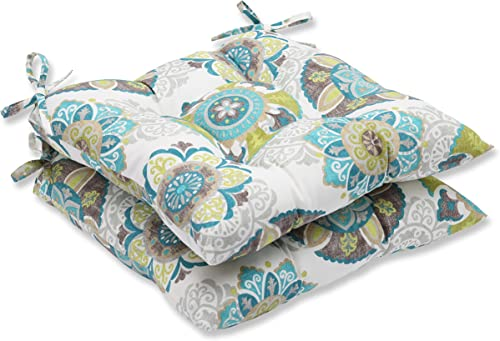 Deal of the week: Pillow Perfect Outdoor/Indoor Allodala Oasis Tufted Seat Cushions Square Back