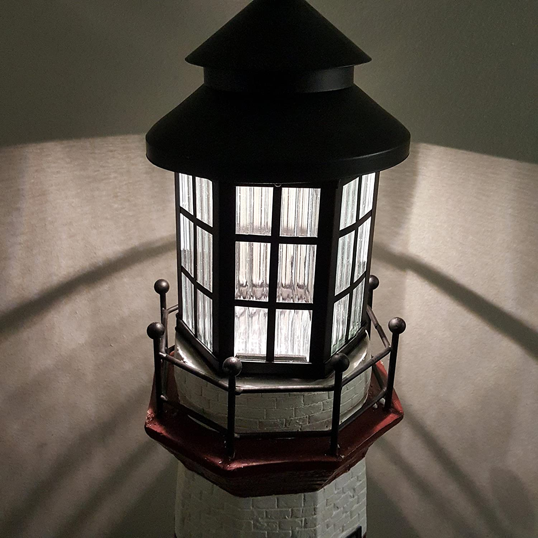 Garden Sunlight SS C5116W1 Large Lighthouse Solar Light