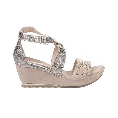 nouveau concept 902d6 b665f Khrio Nu Pieds Femme Rose Poudre - 38: Amazon.fr: Chaussures ...