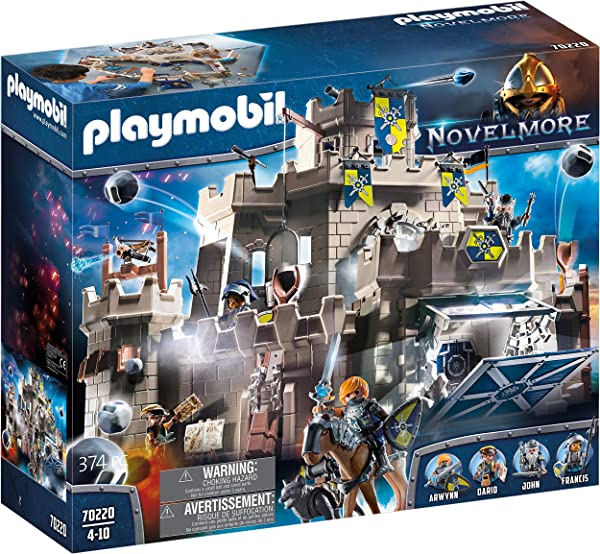 Playmobil Novelmore Grand Castle of Novelmore building play set toy for kids in package