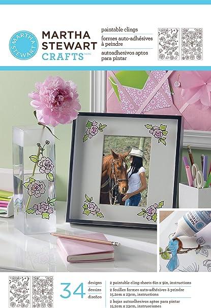 Amazon Com Martha Stewart Crafts Paintable Clings
