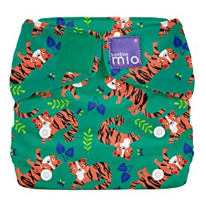 Bambino Mio, Miosolo All-in-One Cloth Diaper, Tiger Tango