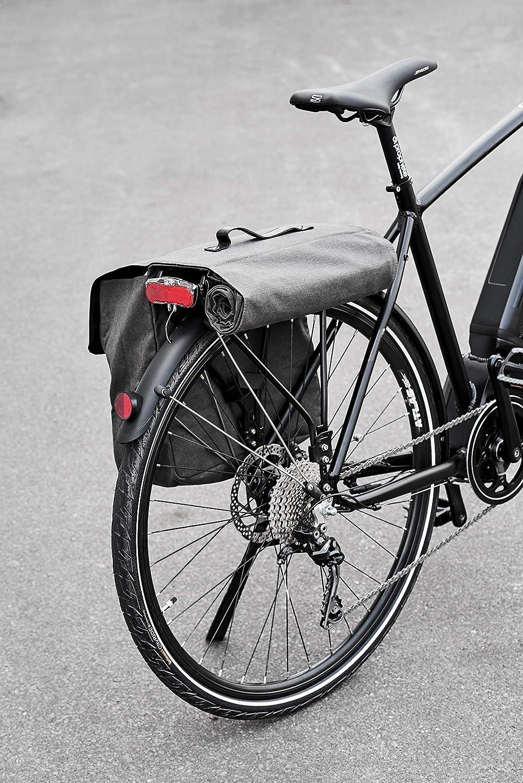 Prophete montaje de portaequipaje, volumen: 30 l Alforjas para bicicleta, Gris/Marrón, M, Colores surtidos: Amazon.es: Deportes y aire libre