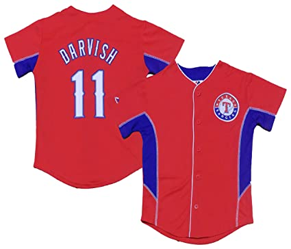 fc186e7db ... clearance outerstuff yu darvish texas rangers red kids team leader jersey  kids 4 6f37e 5fc67