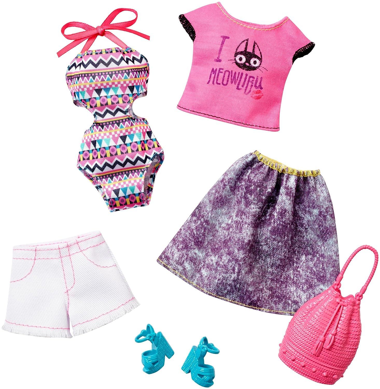 Barbie Fashion Pack 2 Pack Boho Swim Amazon Toys & Games