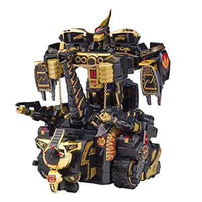 Power Rangers Legacy Black Edition Titanus Novelty: Bandai: Toys & Games