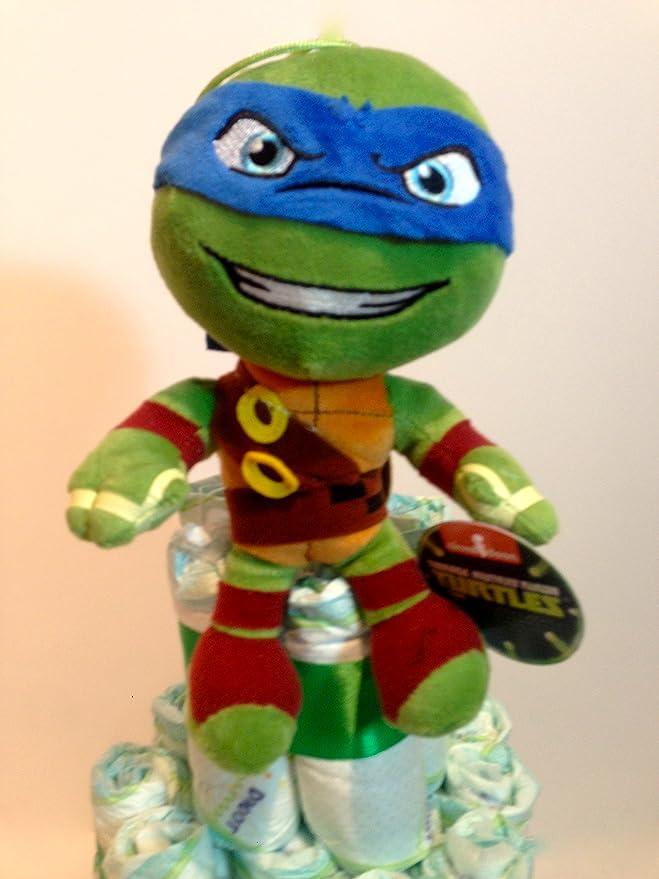 Tarta de pañales DODOT Tortugas Ninja: Amazon.es: Bebé