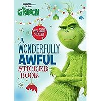 A Wonderfully Awful Sticker Book (Illumination's the Grinch)