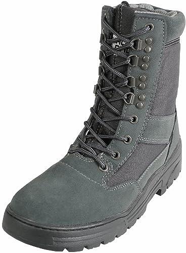 e74c10e74ac Savage Island Combat Boots Urban Grey Suede