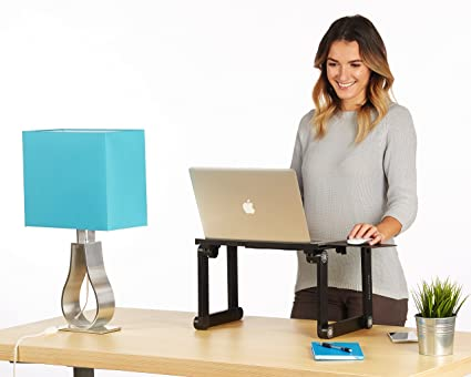 Standing Desk For Laptop Realspace Mezza Desk