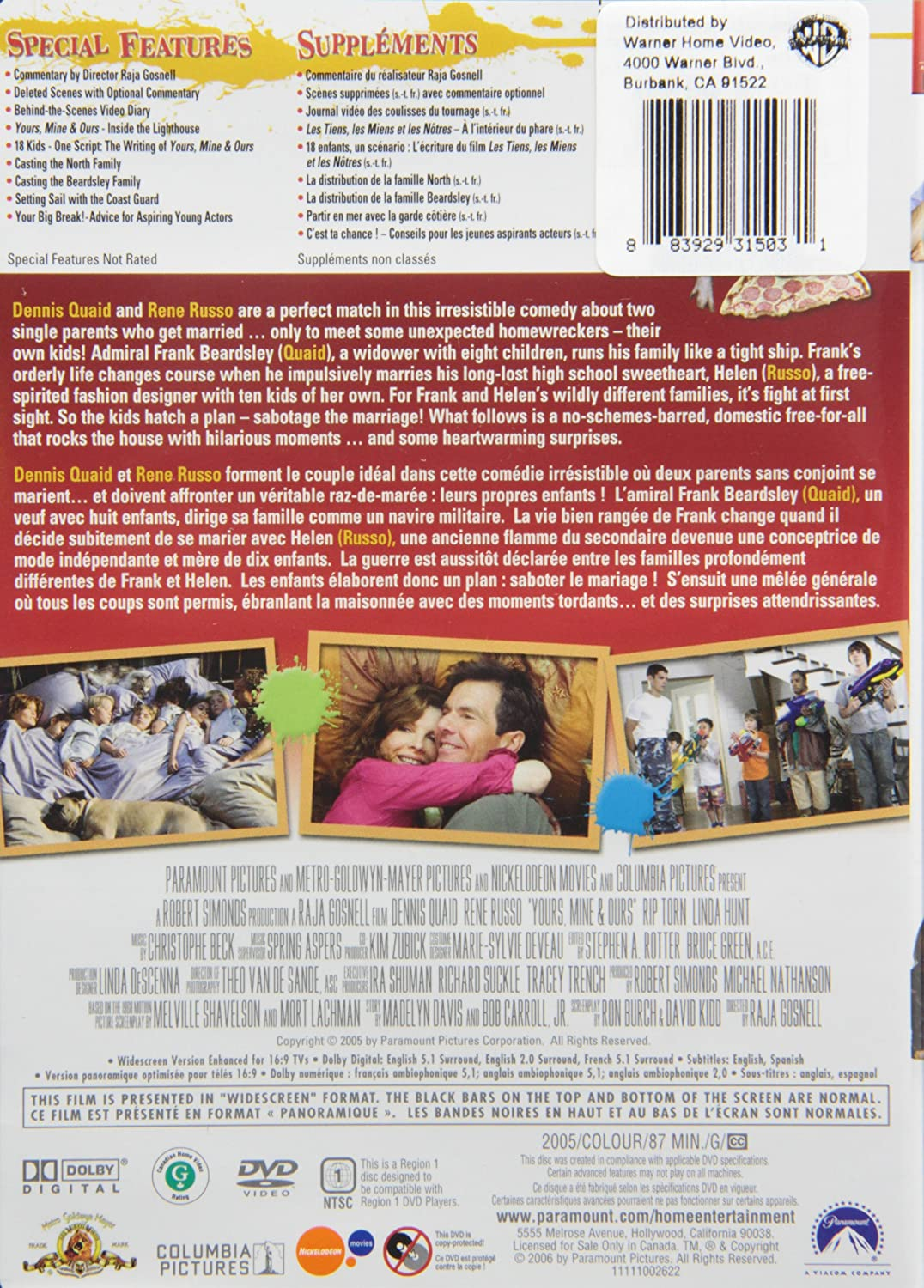 Amazon com: Yours Mine And Ours: Movies & TV