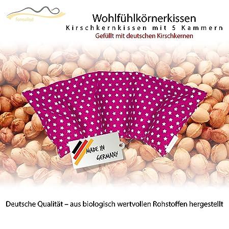 Großes Kirschkernkissen/Entspannungskissen zur Wärmebehandlung - Heizkissen für Mikrowelle (Wärmekissen) // langes Relaxkisse