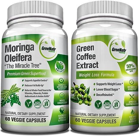 Amazon Com Moringa Oleifera Green Coffee Bean Extract Weight