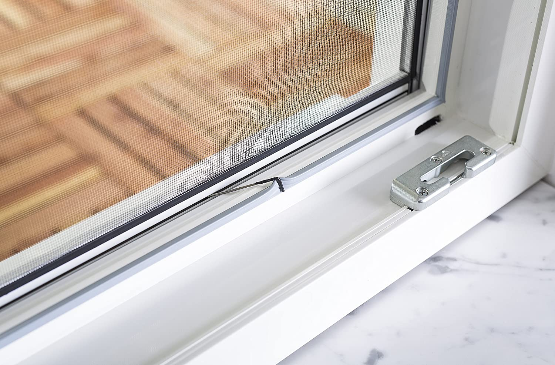 Culex 100690107-VH Fensterfliegengitter Master-Slim 130x150cm anthrazit