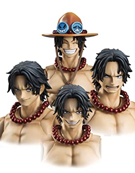 Amazon.com: Megahouse One Piece: Portgas D. Ace variable ...