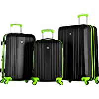 3-Piece Olympia USA Apache Expandable Hardside Luggage Set with Spinner Wheels (Multiple Colors)