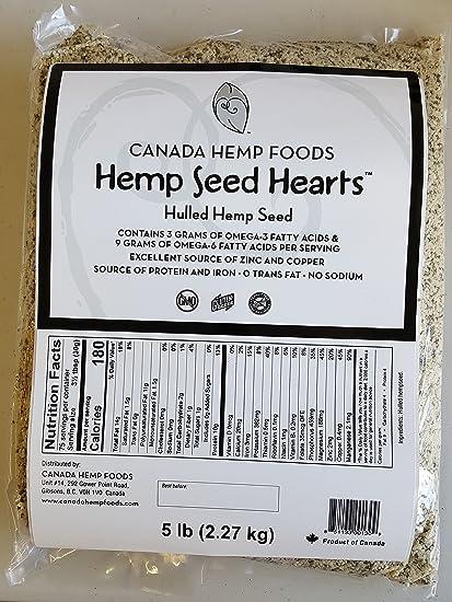 Amazon.com: Canadá cáñamo Alimentos Corazones Bolsa De ...