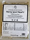Canada Hemp Foods - Hulled Hemp Seed Hearts - Non GMO - 5lb (B073RTGW6D)