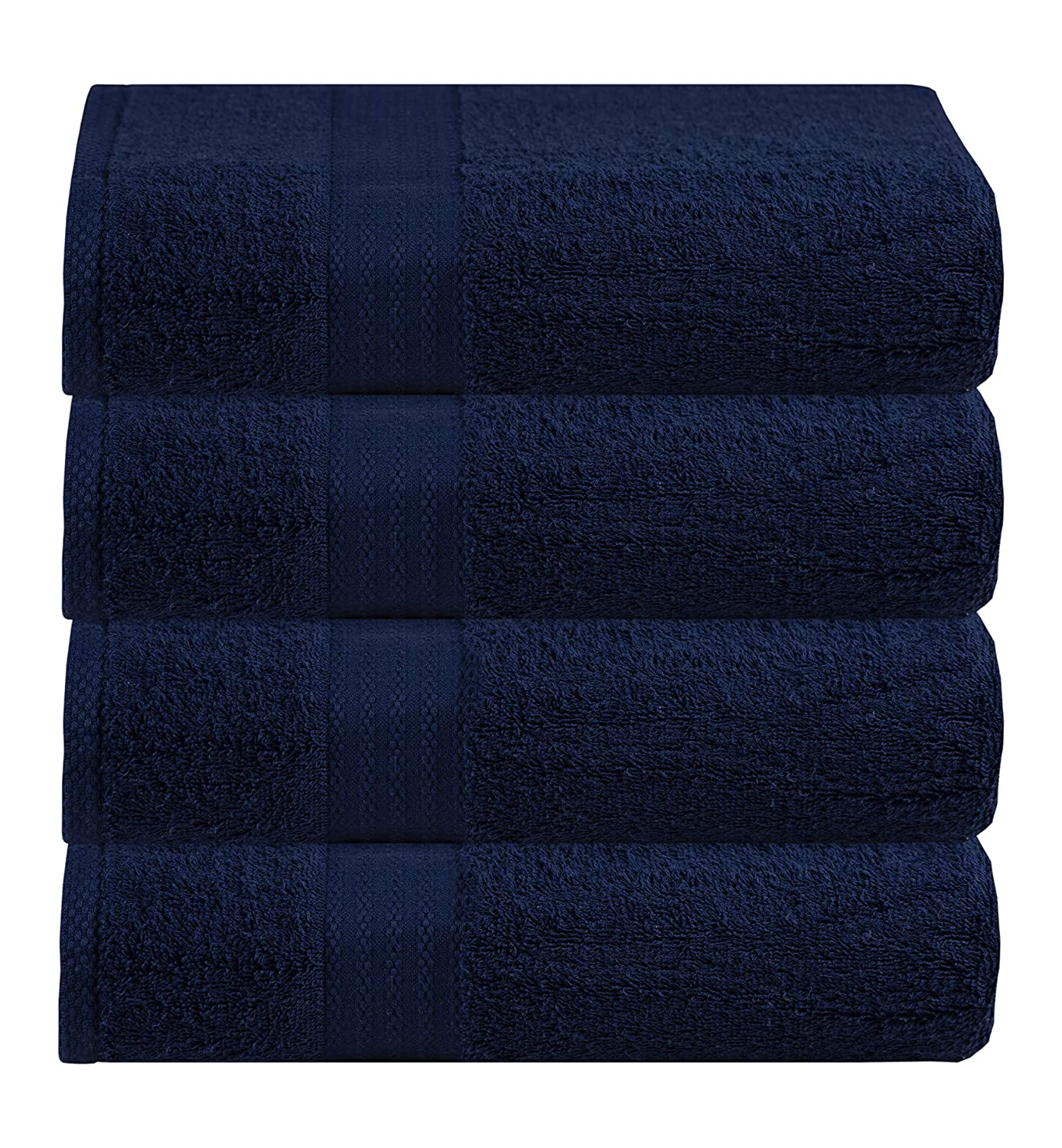 Sky Blue MahiritzHomeFashion Quick Drying Ideal for Everyday use Glamburg Ultra Soft 4 Piece Bath Towel Set Hotel /& Spa Highly Absorbent Multipurpose 100/% Pure Ringspun Cotton Contains 4 Bath Towels 27x54