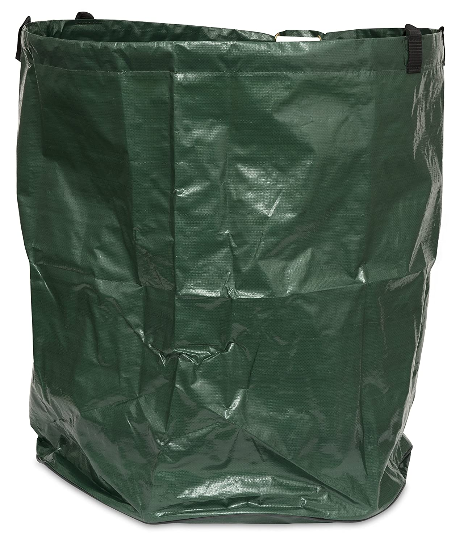 Windhager–Sacco da giardino Fogliame pieghevole salvaspazio 80L, verde, diametro 45x 50cm, 06779 WIOYS