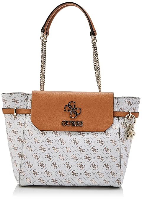 Guess Esme Girlfriend Satchel Borsa a Tracolla da Donna