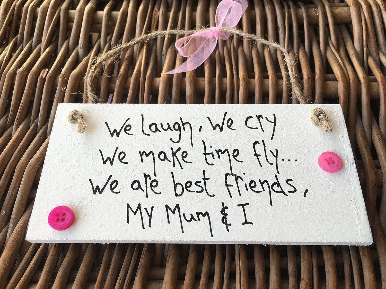 Little Miss scrabbled Plaque Gifts personnalis/ée pour maman My Mum et je Mothers Day Gifts