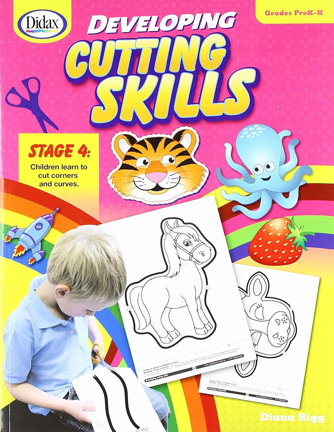 Didax Educational Resources Developing Cutting Skills PreK-K