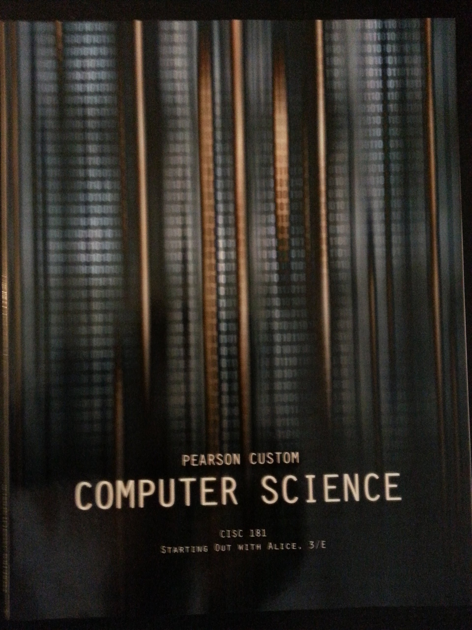 Pearson Custom COMPUTER SCIENCE - Starting Out With ALICE, 3/E PDF