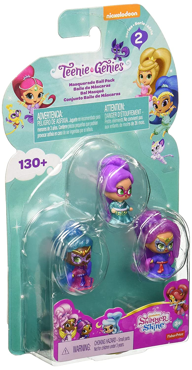 FGR06 Shimmer and Shine Teenie Genies Series 2 Masquerade Ball Pack Set of 3