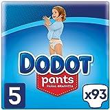 Dodot Pants Pañal-Braguita Talla 5 (12-17 kg), Total 93 Pañales