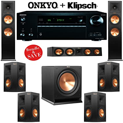 Amazon.com: Klipsch RP-280F 7.1 Reference Premiere Home Theater ...