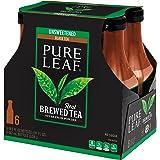 Pure Leaf, Unsweet Tea, 18.5 oz (1 Pack of 6 bottles)