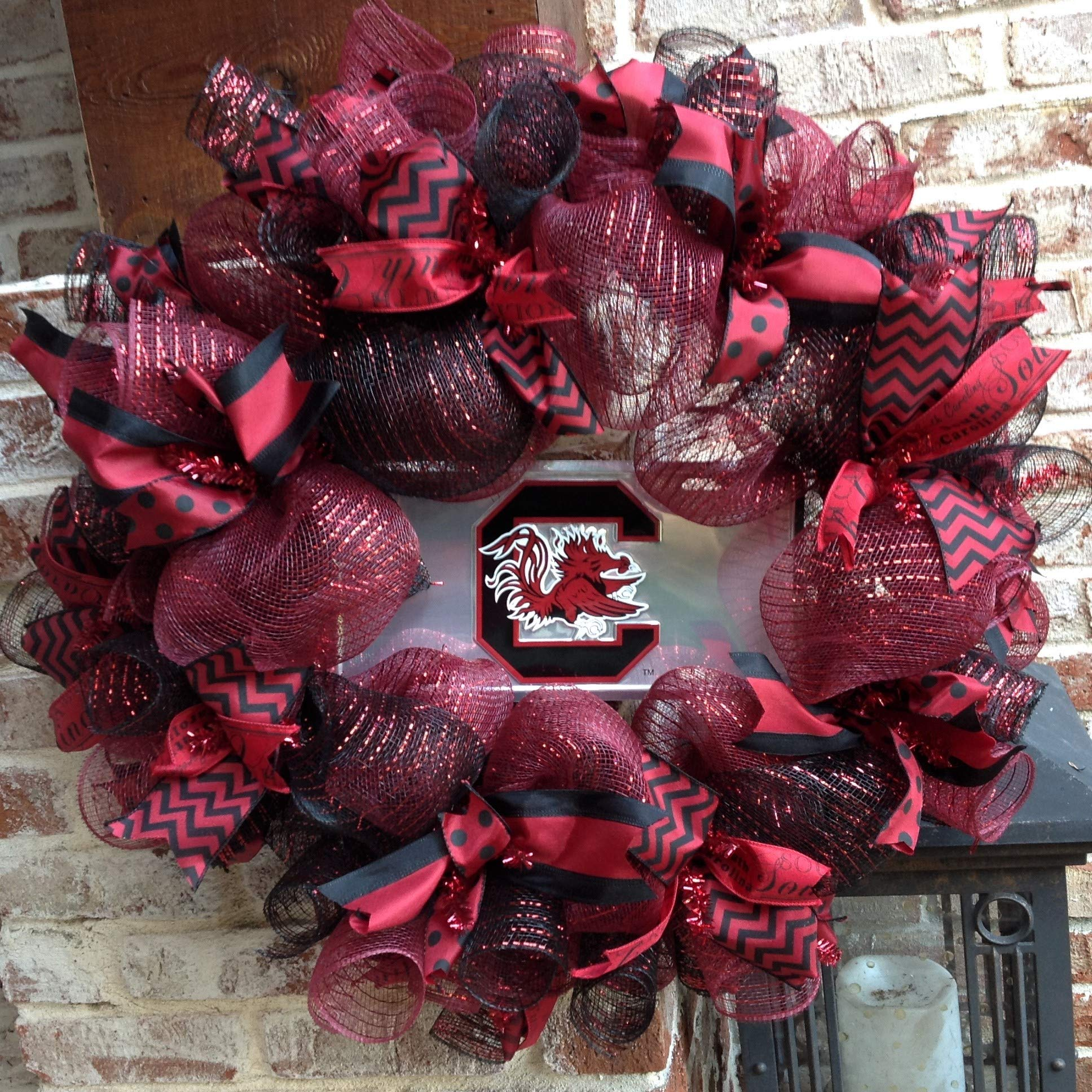 Flora Decor South Carolina Game Cocks Collegiate Wreath - 26''