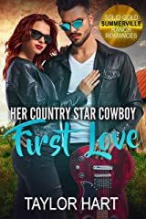 Her Country Star Cowboy First Love: Sweet Christian Fiction (Solid Gold Summerville Ranch Billionaire Romances Book 1) Kindle Edition