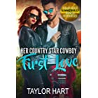 Her Country Star Cowboy First Love: Sweet Christian Fiction (Solid Gold Summerville Ranch Romances Book 1)