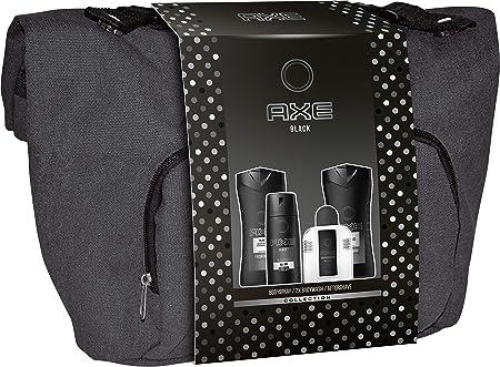 Axe regalo Set Black con mochila (2 x GEL de 250 ml, Body Spray 150 Ml, Aftershave 100 ml): Amazon.es: Belleza