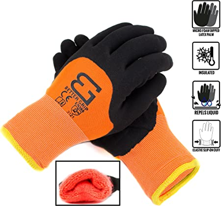 Amazon.com: Better Grip Safety - Guantes de trabajo con ...