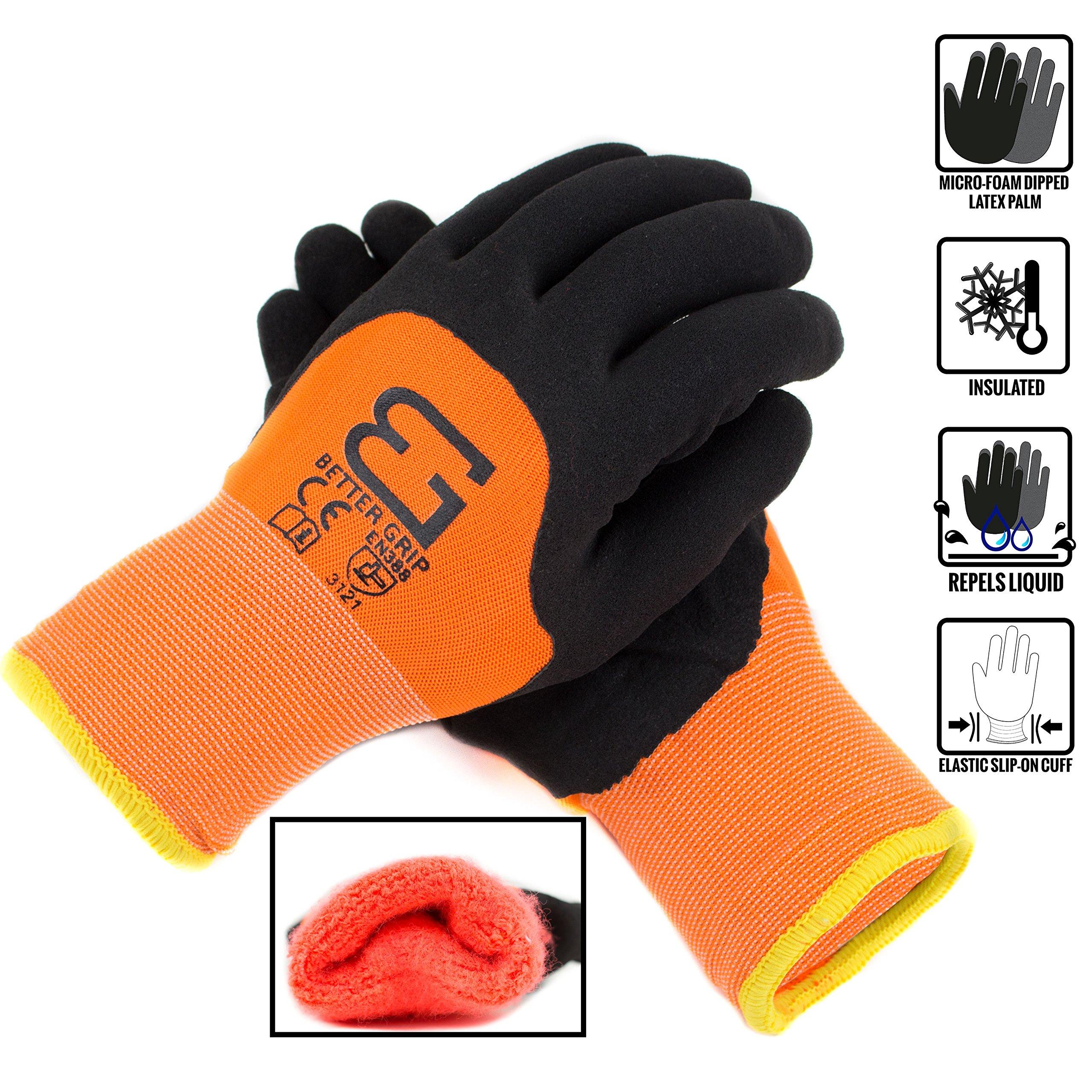 Better Grip BGWANS3/4 Safety Winter Insulated