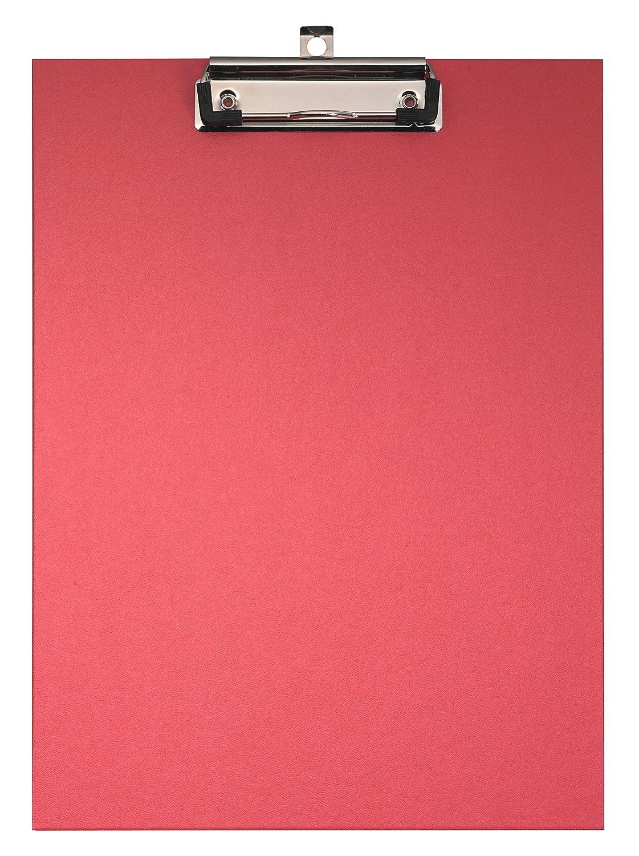Lagerwirtschaft Falken Das Original Premium Klemmbrett-Mappe mit stabilem Pappkern und Kunststoffbezug au/ßen und innen f/ür DIN A4 mit Tasche im Vorderdeckel mit Stiftehalter blau ideal f/ür Inventur