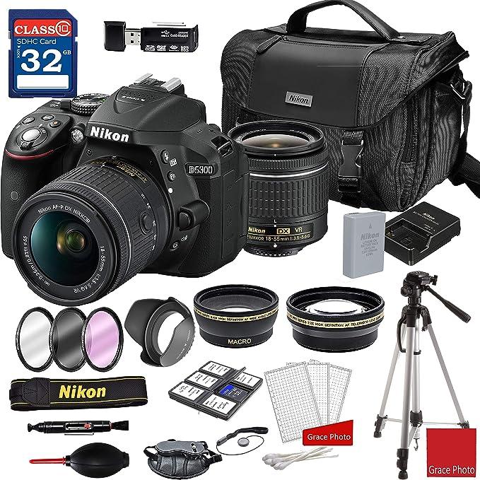 Nikon D5300 - Cámara réflex Digital con AF-P DX NIKKOR 18-55 mm f ...