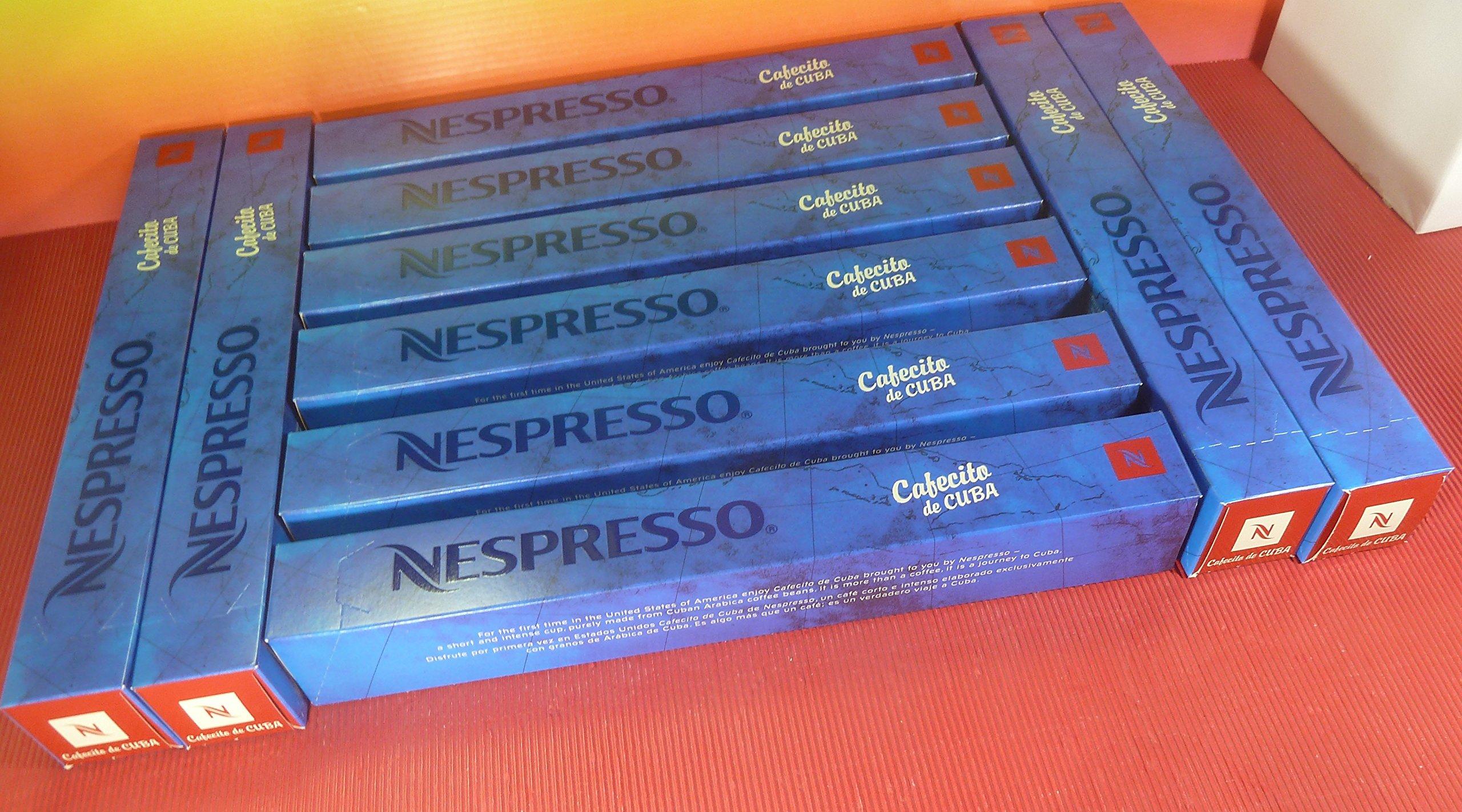 NESPRESSO CAFECITO DE CUBA 10 SLEEVES INTENSITY 10,FRESH