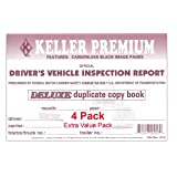 J. J. Keller 115B Detailed Drivers Vehicle Inspection Report, 2-Ply, Carbonless - Pack