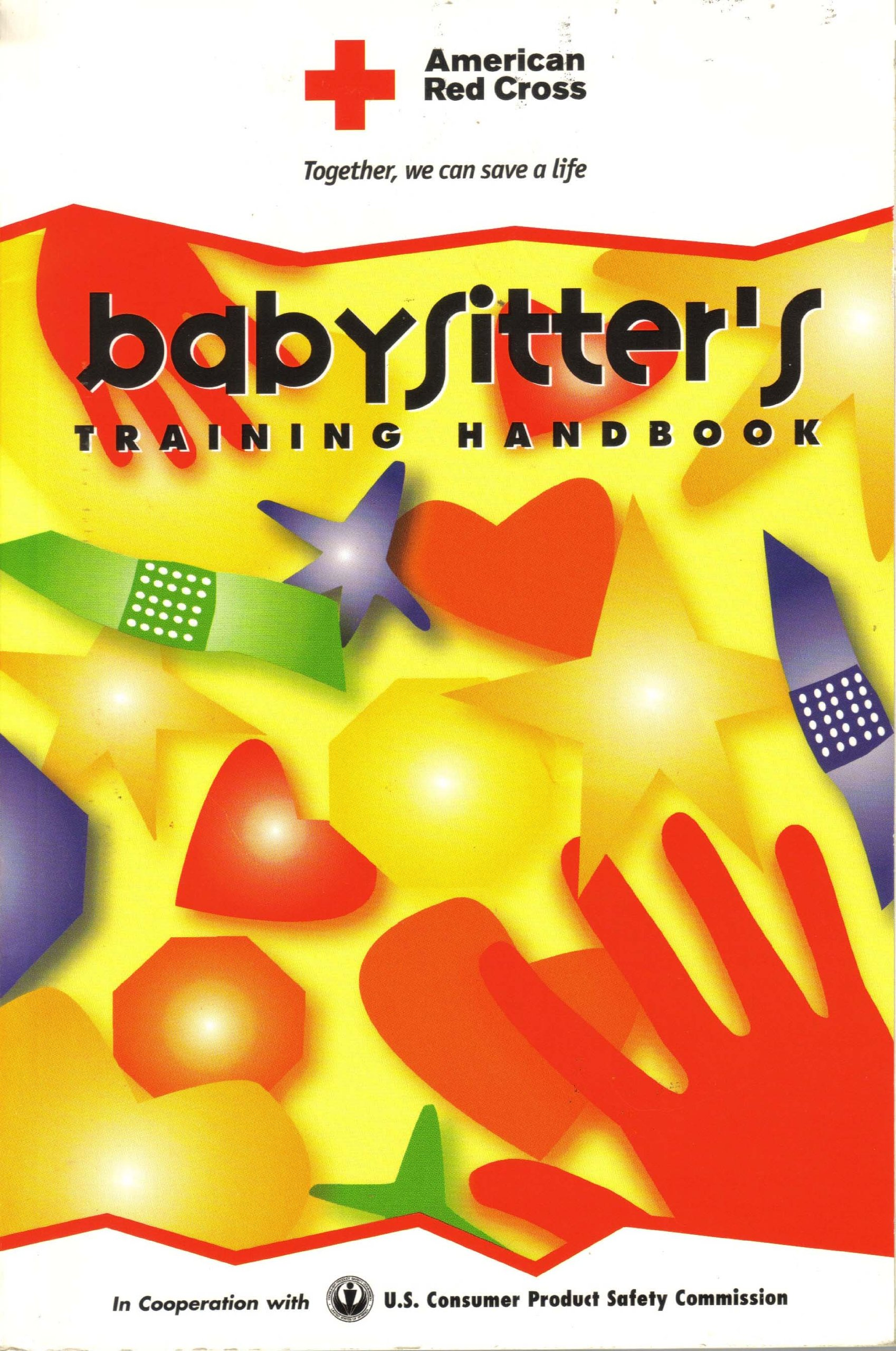 American Red Cross Babysitter's Training Handbook: American Red Cross,  American National Red Cross: 9781584801382: Amazon.com: Books