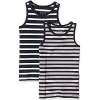NAME IT Nittank Top M B Noos Camiseta sin Mangas (Pack de 2) para Bebés