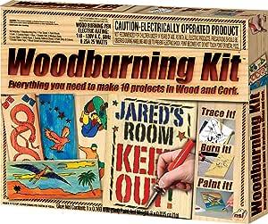 NSI Wood Burning Kit, Multi, Model:7733