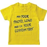 lepni.me Camiseta para Niño/Niña Regalo Personalizado, Agregar Logotipo de la Compañía, Diseño Propio o Foto